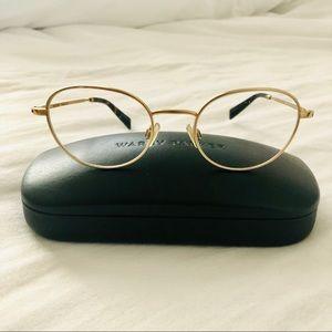 WARBY PARKER Gold Henry Metal Frames Eyeglasses